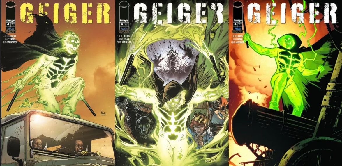 What the Best Places To Find Reviews on Comics are Saying About Geiger